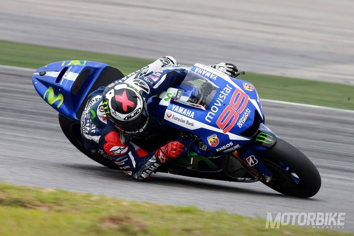 Jorge Lorenzo - Test Sepang MotoGP - Motorbike Magazine