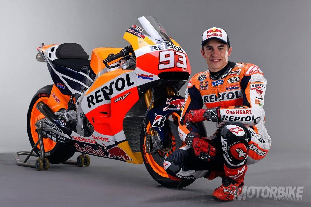 Marc Márquez - Repsol Honda Team 2015 - Motorbike Magazine
