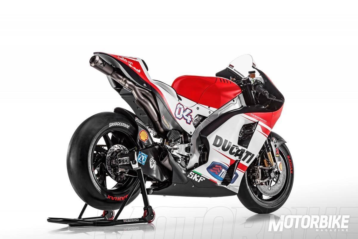 Andrea Dovizioso - Ducati MotoGP 2015 - Motorbike Magazine