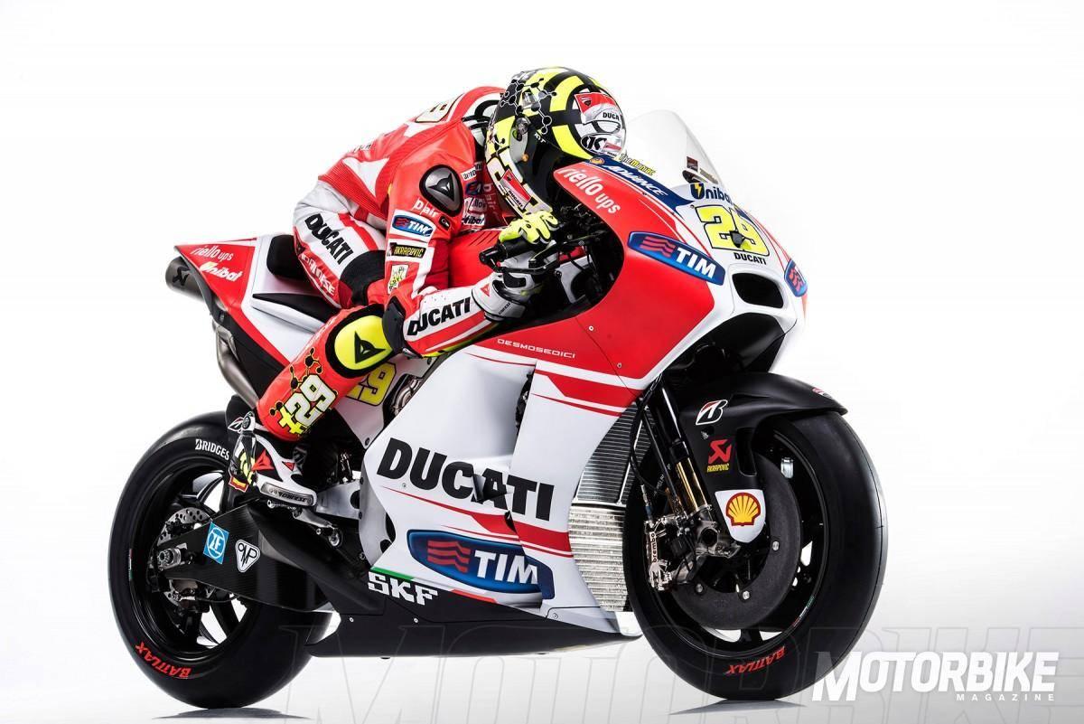 Andrea Iannone - Ducati MotoGP 2015 - Motorbike Magazine