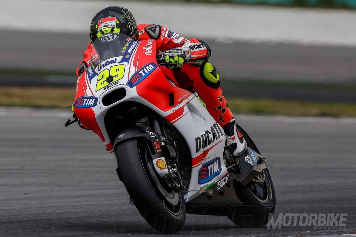 Andrea Iannone - Test Sepang 2 - Motorbike Magazine