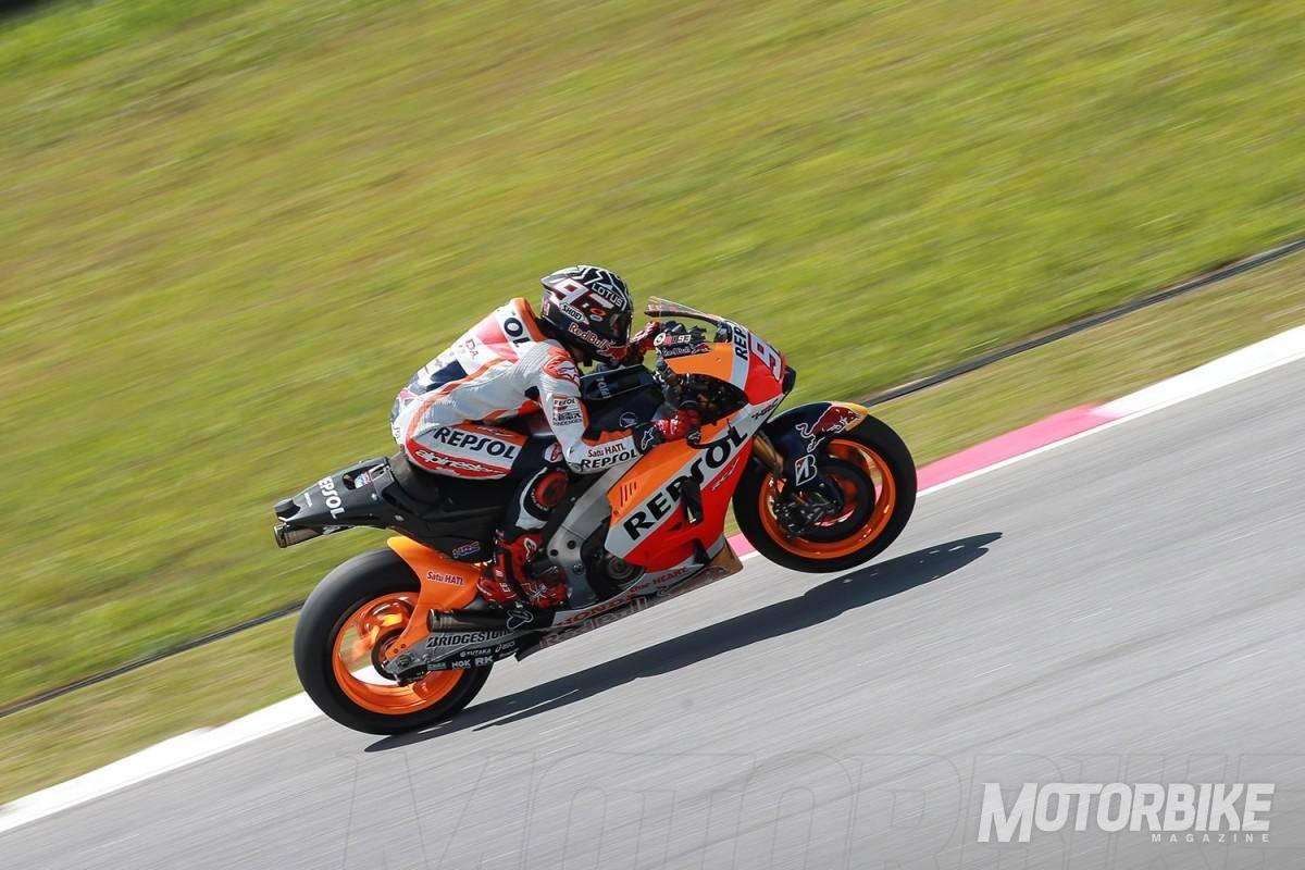 Marc Márquez - Test Sepang MotoGP - Motorbike Magazine
