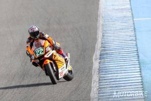Sam Lowes - Test Moto2 Jerez - Motorbike Magazine