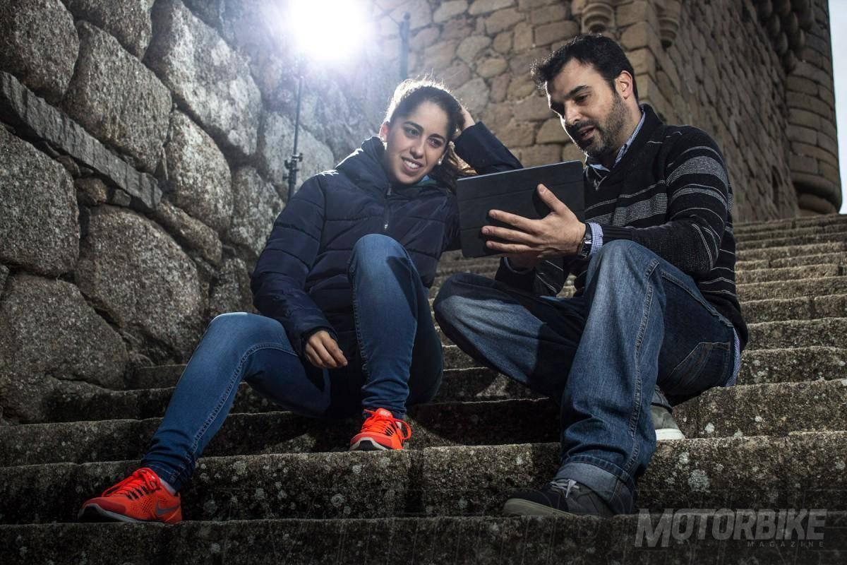 Entrevista con María Herrera - Motorbike Magazine