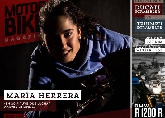 Portada Motorbike Magazine #2 - María Herrera