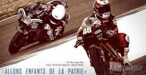 Fabio Quartararo y Alexis Masbou. Moto3