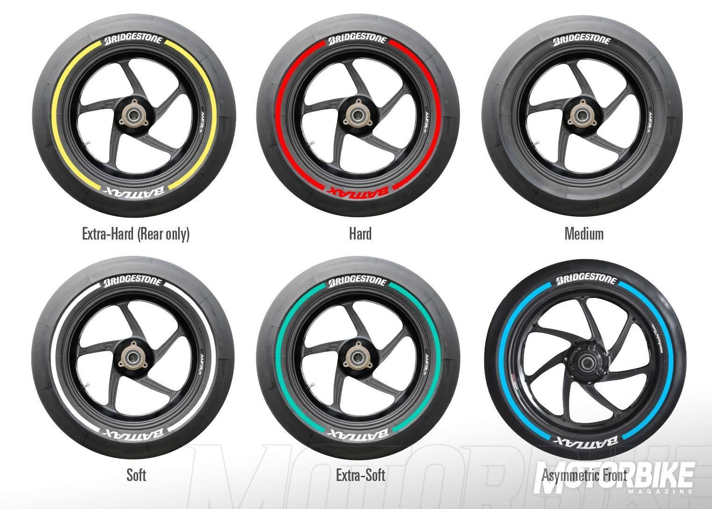 MotoGP. Bridgestone anuncia nuevos códigos de color para ...