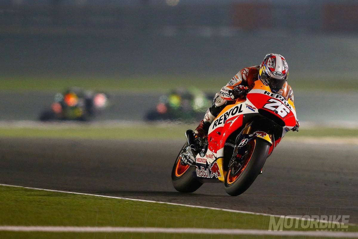 Dani Pedrosa lesion MotoGP Qatar