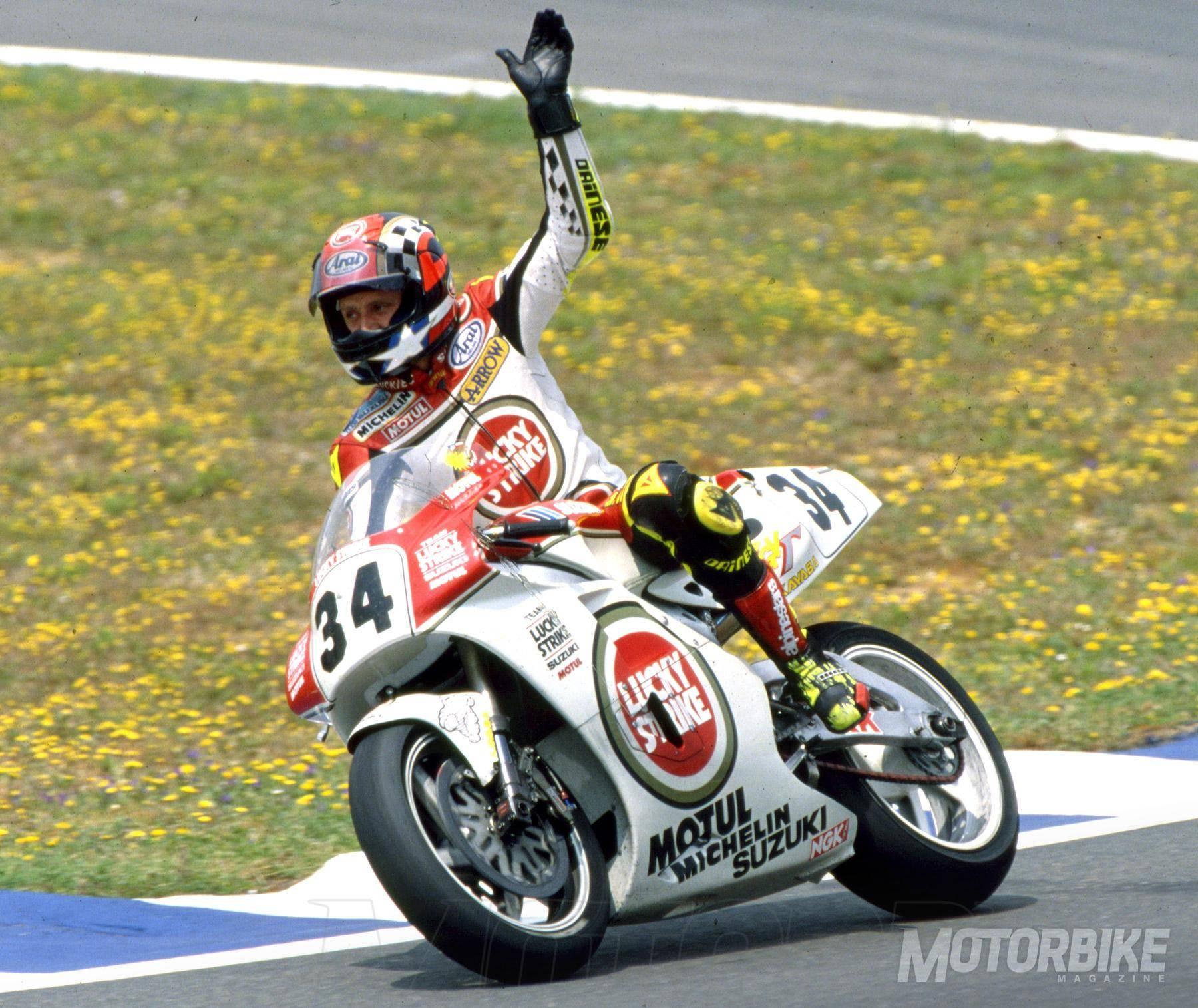 Kevin Schwantz: «Para mí no hay dudas: Wayne Rainey es el piloto entre pilotos» - Motorbike Magazine