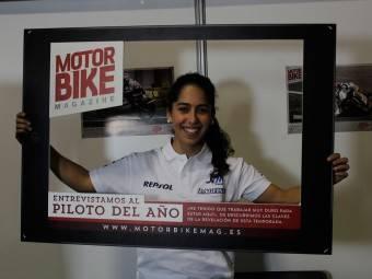 Maria Herrera MotoMadrid Motorbike Magazine 001