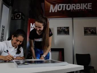 Maria Herrera MotoMadrid Motorbike Magazine 011