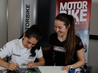 Maria Herrera MotoMadrid Motorbike Magazine 012