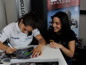 Maria Herrera MotoMadrid Motorbike Magazine 014
