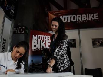 Maria Herrera MotoMadrid Motorbike Magazine 024