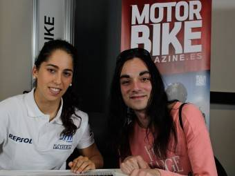 Maria Herrera MotoMadrid Motorbike Magazine 029