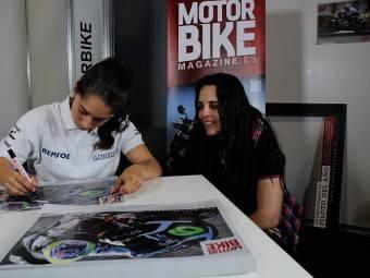 Maria Herrera MotoMadrid Motorbike Magazine 049