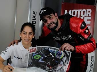 Maria Herrera MotoMadrid Motorbike Magazine 060