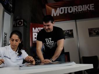 Maria Herrera MotoMadrid Motorbike Magazine 062