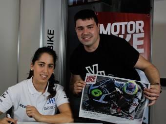 Maria Herrera MotoMadrid Motorbike Magazine 063