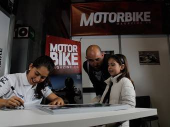 Maria Herrera MotoMadrid Motorbike Magazine 073