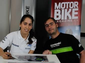 Maria Herrera MotoMadrid Motorbike Magazine 098