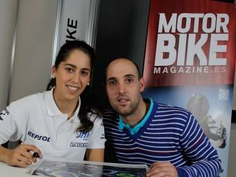 Maria Herrera MotoMadrid Motorbike Magazine 100