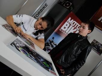 Maria Herrera MotoMadrid Motorbike Magazine 101