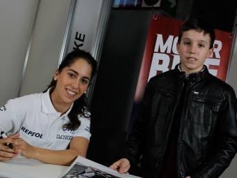 Maria Herrera MotoMadrid Motorbike Magazine 102