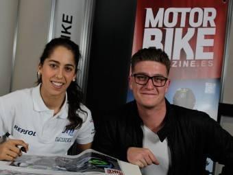 Maria Herrera MotoMadrid Motorbike Magazine 104