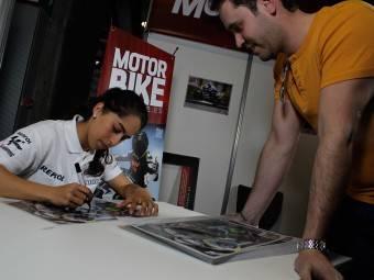 Maria Herrera MotoMadrid Motorbike Magazine 105