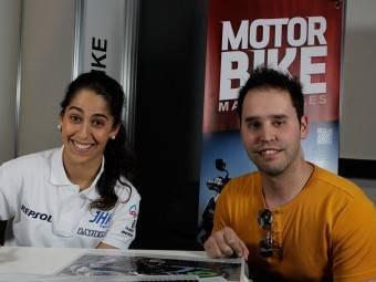 Maria Herrera MotoMadrid Motorbike Magazine 106