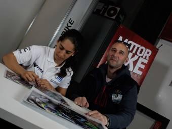 Maria Herrera MotoMadrid Motorbike Magazine 109