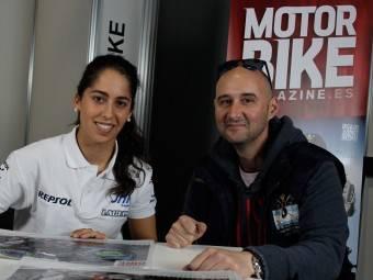 Maria Herrera MotoMadrid Motorbike Magazine 110
