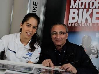Maria Herrera MotoMadrid Motorbike Magazine 111