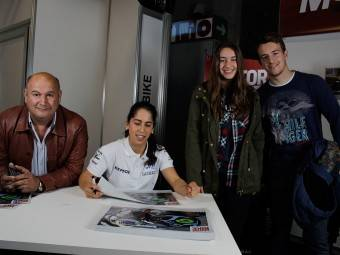 Maria Herrera MotoMadrid Motorbike Magazine 113