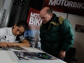Maria Herrera MotoMadrid Motorbike Magazine 115