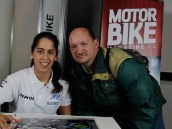 Maria Herrera MotoMadrid Motorbike Magazine 116