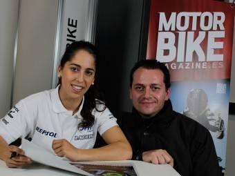 Maria Herrera MotoMadrid Motorbike Magazine 117
