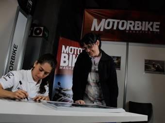 Maria Herrera MotoMadrid Motorbike Magazine 118
