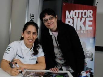 Maria Herrera MotoMadrid Motorbike Magazine 119