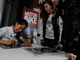 Maria Herrera MotoMadrid Motorbike Magazine 120