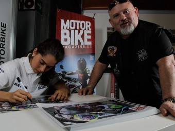 Maria Herrera MotoMadrid Motorbike Magazine 133