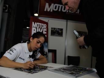 Maria Herrera MotoMadrid Motorbike Magazine 138