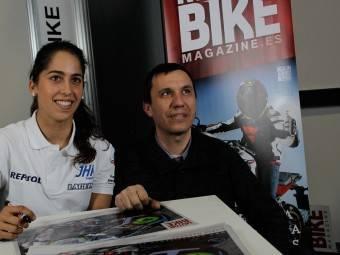 Maria Herrera MotoMadrid Motorbike Magazine 139