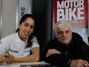 Maria Herrera MotoMadrid Motorbike Magazine 140