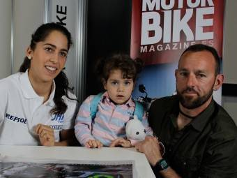 Maria Herrera MotoMadrid Motorbike Magazine 142