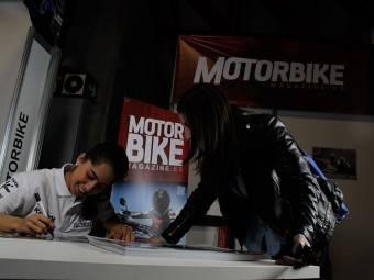 Maria Herrera MotoMadrid Motorbike Magazine 143