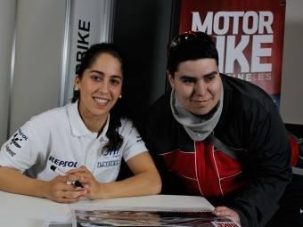 Maria Herrera MotoMadrid Motorbike Magazine 160