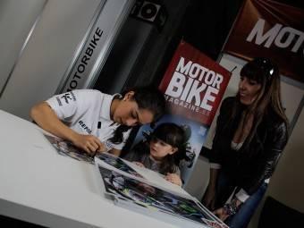 Maria Herrera MotoMadrid Motorbike Magazine 165
