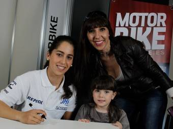Maria Herrera MotoMadrid Motorbike Magazine 166
